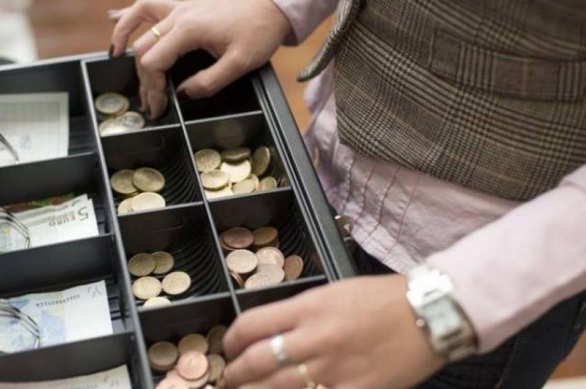 Остаток денег в кассе
