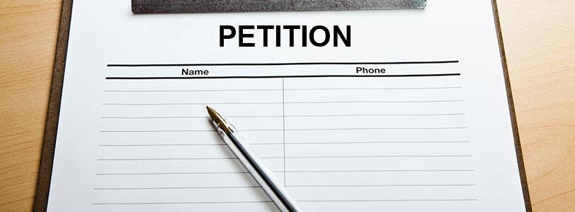 Создание петиции
