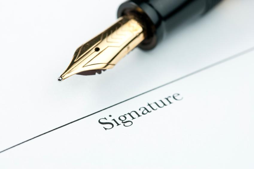 Подписание петиции