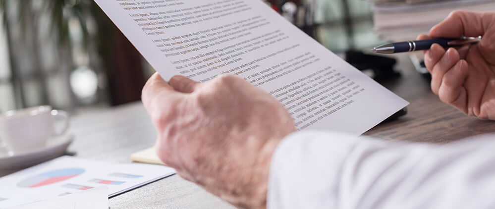 Изучение документа