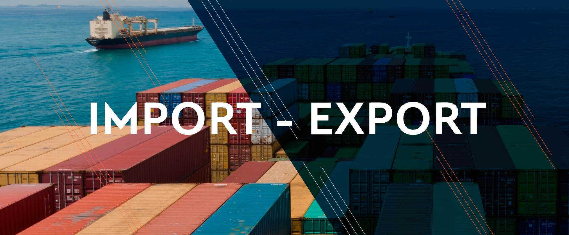 Импорт и экспорт стран