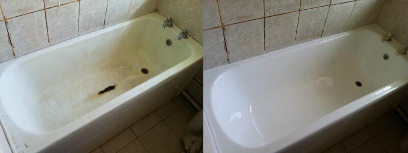 Работа с ванной